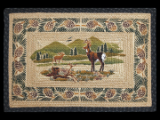 Braided Rug White Tail Deer Rectangle