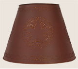 Star Shade Rustic Red (or Brown)