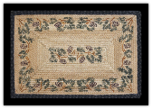 Braided Rug Rectangle Pine Cone