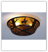 Cowboy Extra Low Flush Mount Ceiling Light