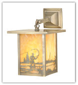 Fly Fishing Wall Sconce