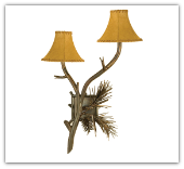 Lone Pine Wall Sconce Double Light