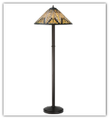 Nuevo Mission Floor Lamp  63 inches