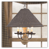 Homespun Hanging Shade Light