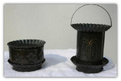 Tart Warmer-punched tin