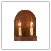 Tin Willow Double Wall Sconce