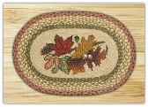 Autumn Leaves Place Mats- Set of 4
