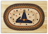 Witch Hat Braided Rug