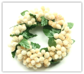 Candle Ring- Microbead Buttercream-Set of 6