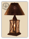 Ladies Rustic Table Lamp
