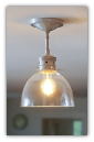 Rustic Bell Pendant Light