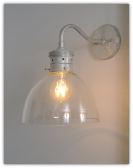 Rustic Bell Sconce
