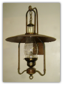 Old Western Lantern Wall Sconce