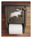 Toilet Paper Holder- Moose