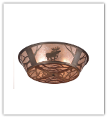 Moose Mica Ceiling Light