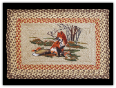 Braided Rug Fox Rectangle