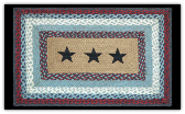 Braided Rug Star Rectangle