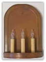 Primitive Triple Sconce