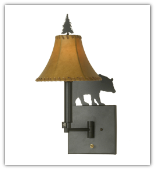 Bear Swing-arm Wall Sconce