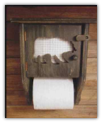 Toilet Paper Holder- Bear