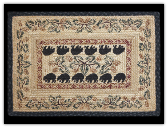 Braided Rug Black Bear