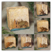 Quarry Rustic Coaster Set