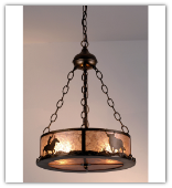 Cowboy Inverted Pendant Light