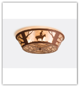 Cowboy Flush Mount Ceiling Light 2