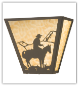 Cowboy Wall Sconce