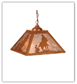 Lone Cowboy Pendant Shade Light