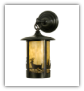Fulton Deer Creek Lantern Style Wall Sconce
