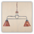 Franklin Hanging Light with Chisel Design