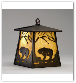 Bear Wall Sconce