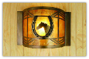 Horseshoe Sconce