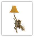 Lone Pine Wall Sconce-Single Light