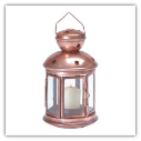 Star Pattern Metal Lantern