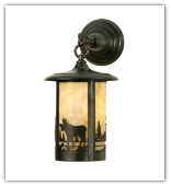 Fulton Moose Creek Lantern Style Wall Sconce