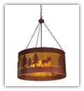 Moose on the Loose Pendant Light