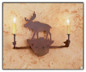 Moose Wall Sconce