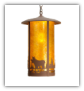 Fulton Moose Creek LARGE Pendant
