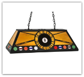 Billiards Marin's Bar Fixture Personalized