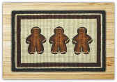 Wicker Weave Ginger Bread Man