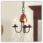 Belleview Wooden Chandelier