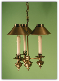 Mini Chandelier/Pendant 3 Shade