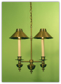 Mini Chandelier/Pendant 2 Shade