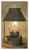 Livery Stable Lamp/Lantern with Chimney