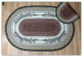 Pinecone 4X6 Braided Rug