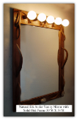 Natural Elk Antler Vanity Mirror