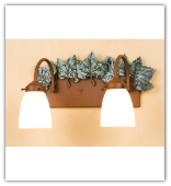 Maple Leaf 2 Light Vanity