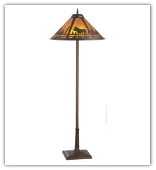 Moose Creek Mica Floor Lamp